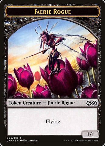 Faerie Rogue Token [Ultimate Masters]