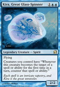 Kira, Great Glass-Spinner [Modern Masters]