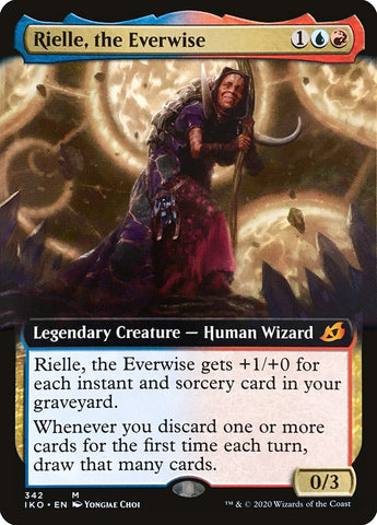 Rielle, the Everwise (Extended Art) [Ikoria: Lair of Behemoths]