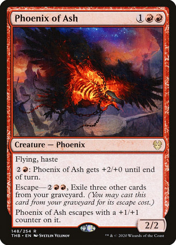 Phoenix of Ash [Theros Beyond Death]