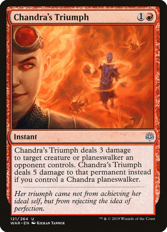 Chandra's Triumph [War of the Spark]