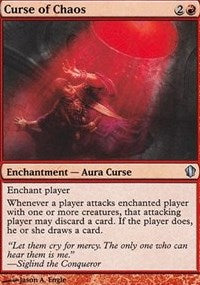 Curse of Chaos [Commander 2013]