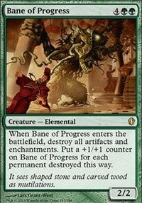 Bane of Progress [Commander 2013]
