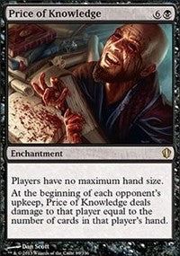 Price of Knowledge [Commander 2013]