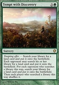 Tempt with Discovery [Commander 2013]