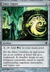 Simic Signet [Commander 2013]