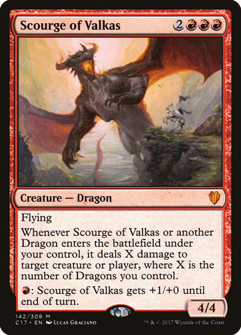 Scourge of Valkas [Commander 2017]