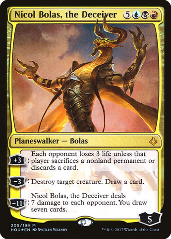Nicol Bolas, the Deceiver [Hour of Devastation]