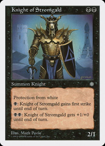 Knight of Stromgald [Anthologies]