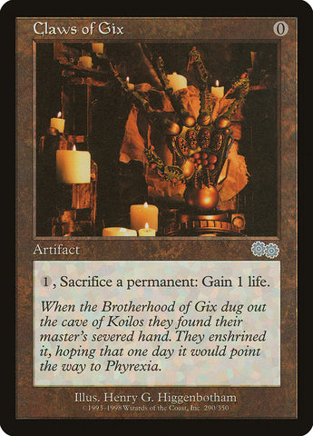 Claws of Gix [Urza's Saga]