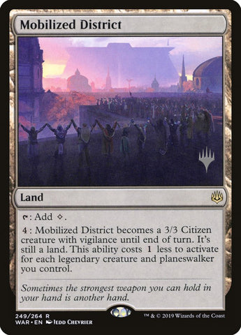 Mobilized District [Promo Pack: Core Set 2020]