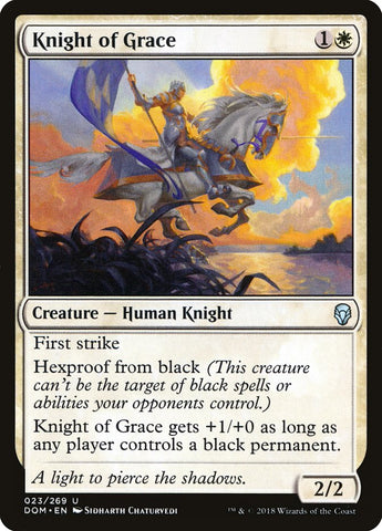 Knight of Grace [Dominaria]
