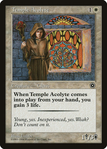 Temple Acolyte [Portal Second Age]