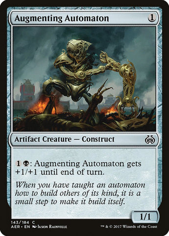 Augmenting Automaton [Aether Revolt]