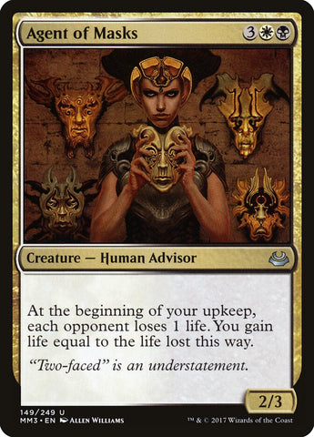 Agent of Masks [Modern Masters 2017]
