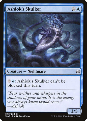 Ashiok's Skulker [War of the Spark]