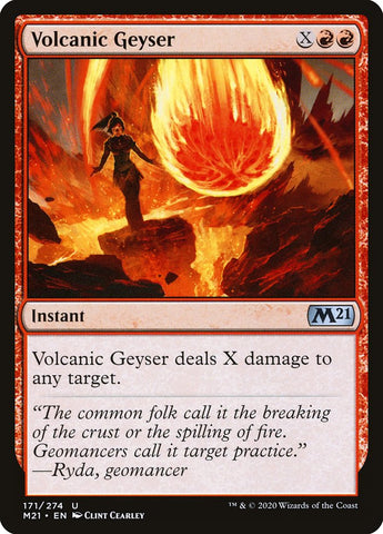 Volcanic Geyser [Core Set 2021]