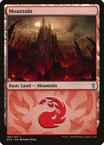 Mountain (105) [Ravnica Allegiance: Guild Kits]