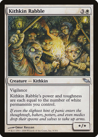 Kithkin Rabble [Shadowmoor]