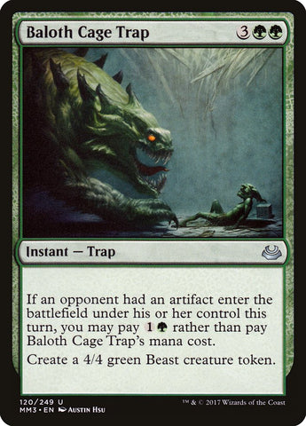 Baloth Cage Trap [Modern Masters 2017]