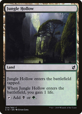 Jungle Hollow [Commander 2019]