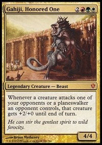 Gahiji, Honored One (Commander 2013) [Oversize Cards]