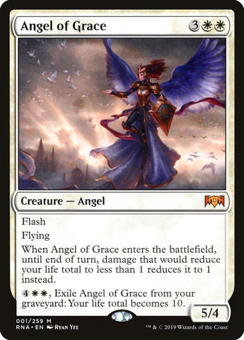 Angel of Grace [Ravnica Allegiance]