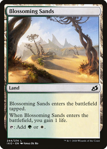 Blossoming Sands [Ikoria: Lair of Behemoths]