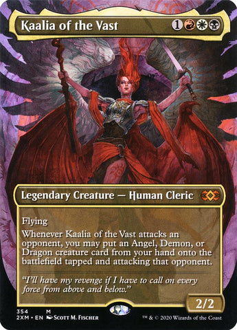 Kaalia of the Vast (Showcase) [Double Masters]