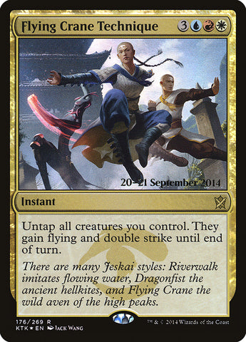 Flying Crane Technique [Prerelease Cards]