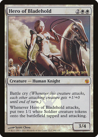 Hero of Bladehold [Prerelease Cards]