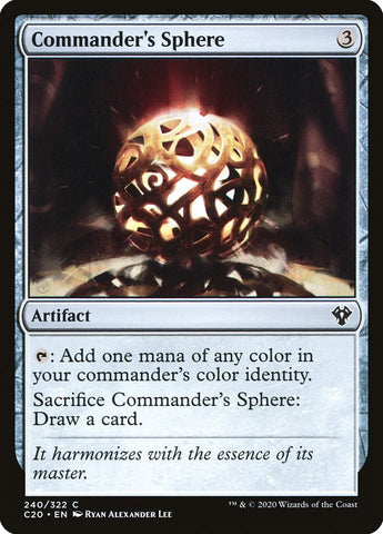 Commander's Sphere [Commander 2020]