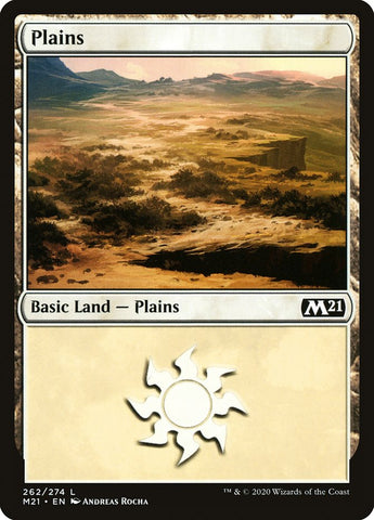 Plains (262) [Core Set 2021]