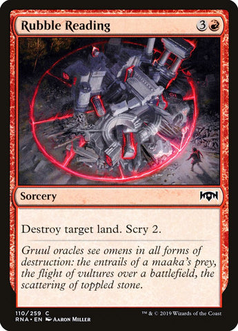 Rubble Reading [Ravnica Allegiance]