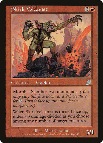 Skirk Volcanist [Scourge]