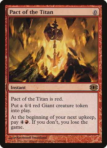 Pact of the Titan [Future Sight]