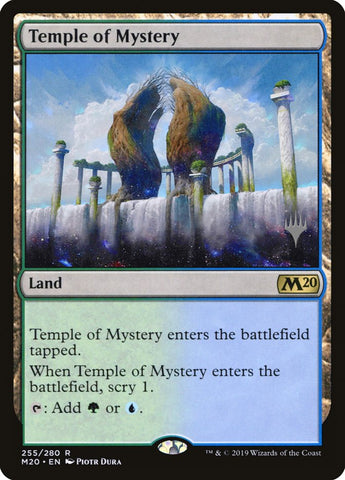 Temple of Mystery [Promo Pack: Core Set 2020]