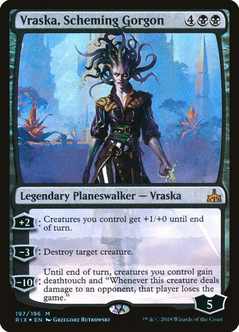 Vraska, Scheming Gorgon [Rivals of Ixalan]