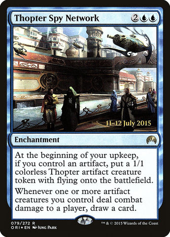 Thopter Spy Network [Prerelease Cards]