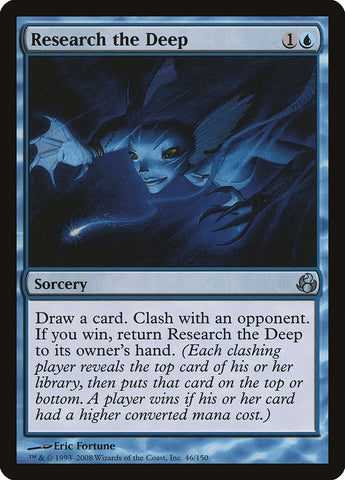 Research the Deep [Morningtide]