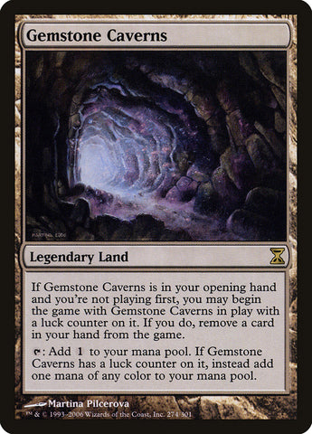 Gemstone Caverns [Time Spiral]