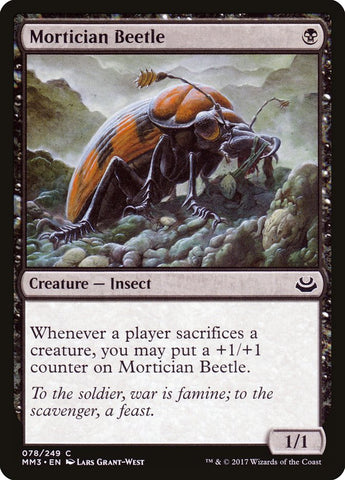 Mortician Beetle [Modern Masters 2017]