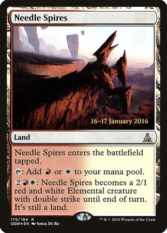 Needle Spires [Prerelease Cards]