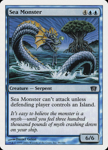 Sea Monster [8th Edition]