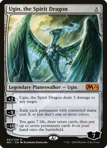 Ugin, the Spirit Dragon [Core Set 2021]