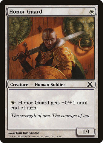Honor Guard [10th Edition]
