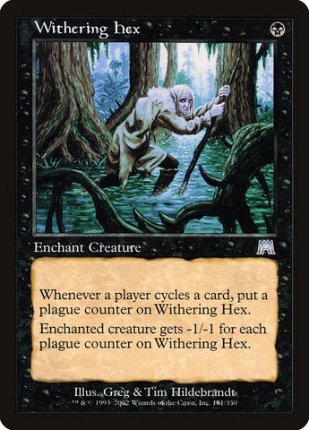Withering Hex [Onslaught]