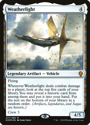 Weatherlight [Prerelease Cards]