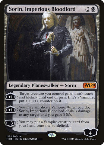 Sorin, Imperious Bloodlord [Core Set 2020]