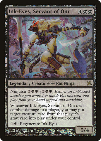 Ink-Eyes, Servant of Oni [Prerelease Cards]